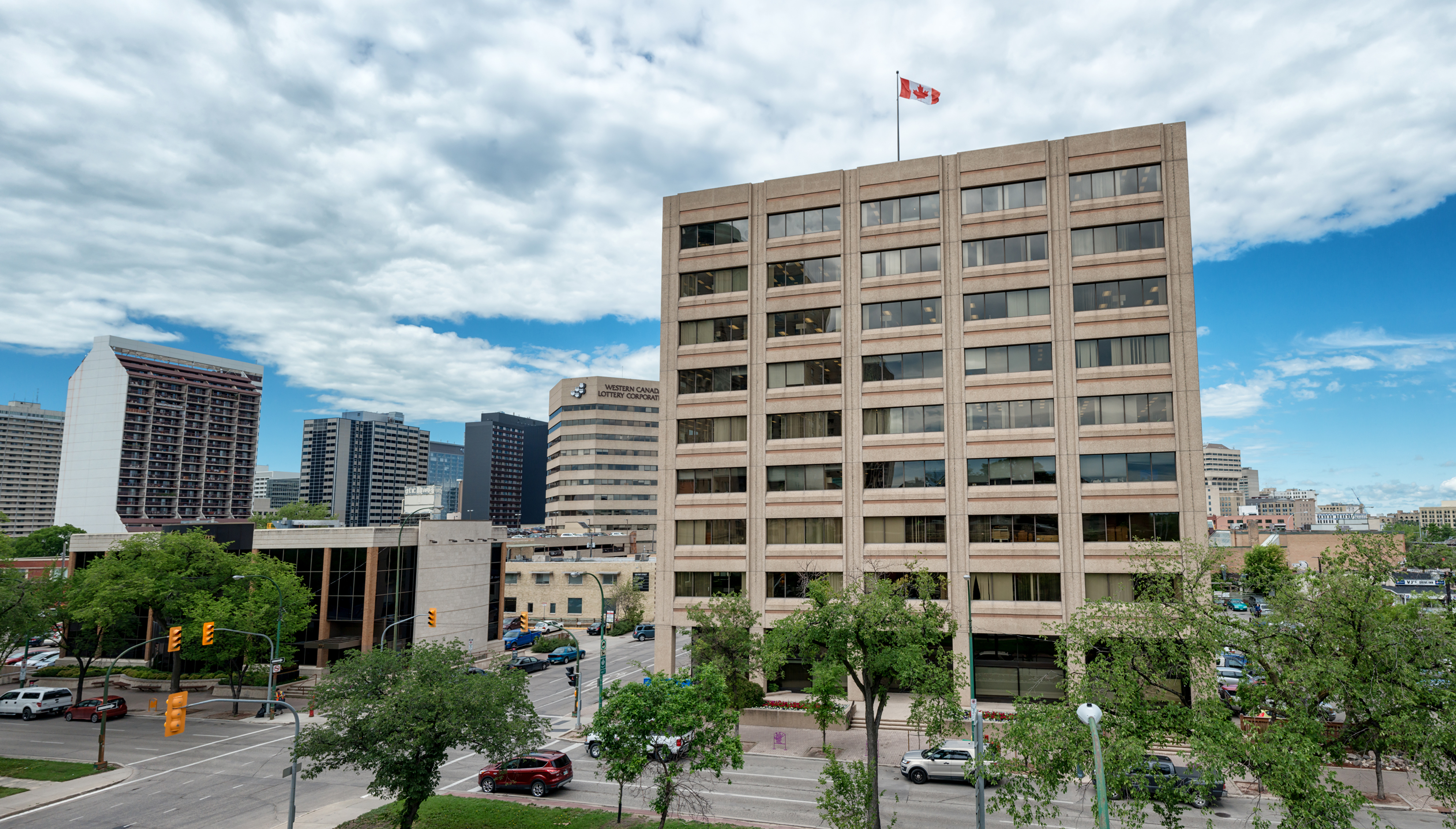 Wawanesa Mutual Insurance Company Executive Office, Winnipeg MB
